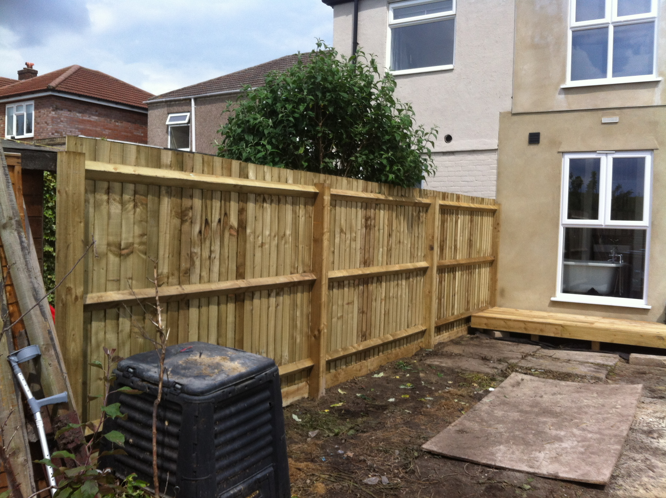 Feather Edge Fencing Fence Machine
